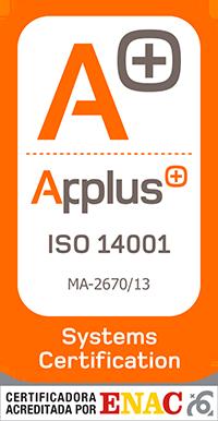 Certificacion Applus 14001