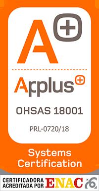 Certificacion Applus 18001