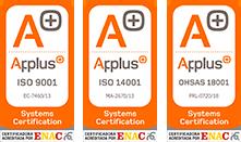 Certificaciones Applus Ibersys