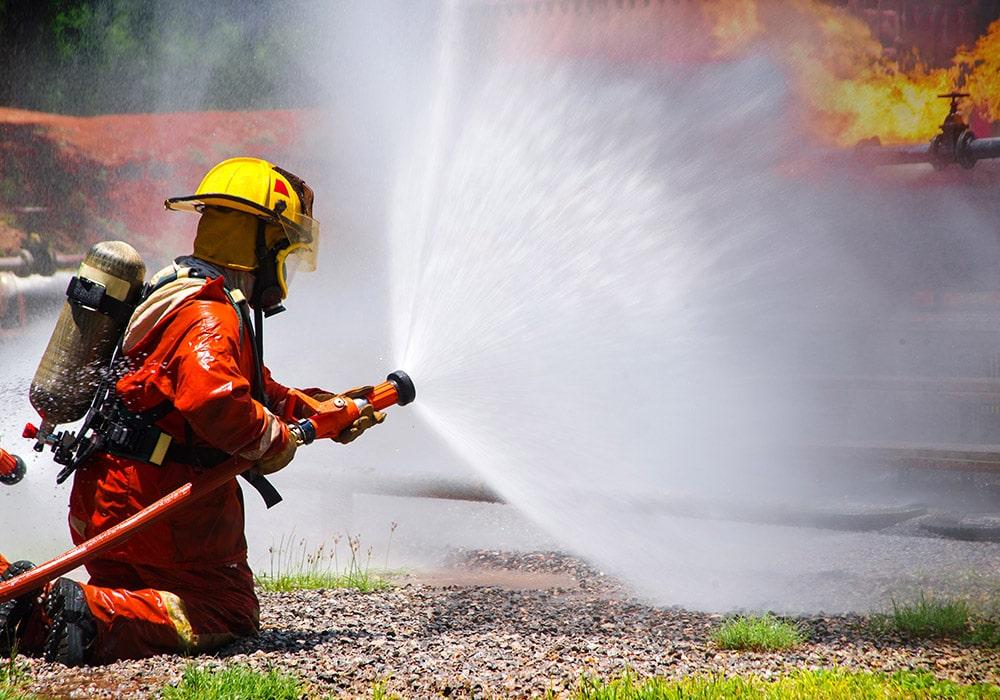 Formación extinción de incendios